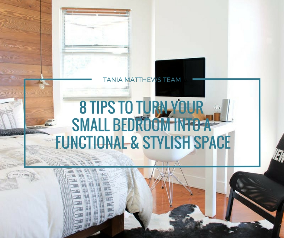 8 Tips To Turn Your Small Bedroom Into A Functional Stylish Space