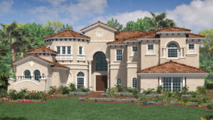 Toll Brothers Casa Del Rey Model At Bellaria Windermere FL