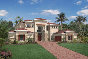 Toll Brothers Merscille Model At Bellaria Windermere FL