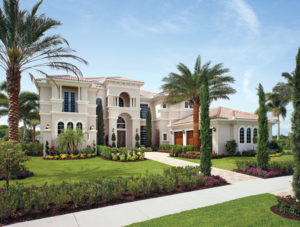 Toll Brothers Villa Lago Model At Bellaria Windermere FL