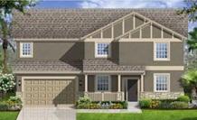 Lennar Homes Brandywine Model At Alexander Ridge Winter Garden FL