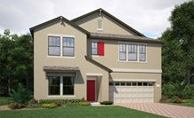 Lennar Homes Brewster Model At Alexander Ridge Winter Garden FL