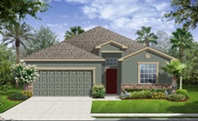 Lennar Homes Hamilton Model At Alexander Ridge Winter Garden FL