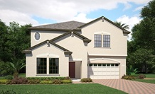 Lennar Homes Peabody Model At Alexander Ridge Winter Garden FL