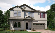 Lennar Homes Provincetown Model At Alexander Ridge Winter Garden FL