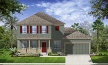 Lennar Homes Vallejo Model At Alexander Ridge Winter Garden FL