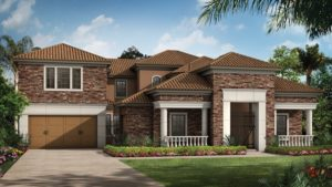 Taylor Morrison Tuscany IV Model At The Cove At Hamlin Horizon West FL